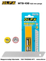 OLFA MTB-10B 12,5mm-es penge
