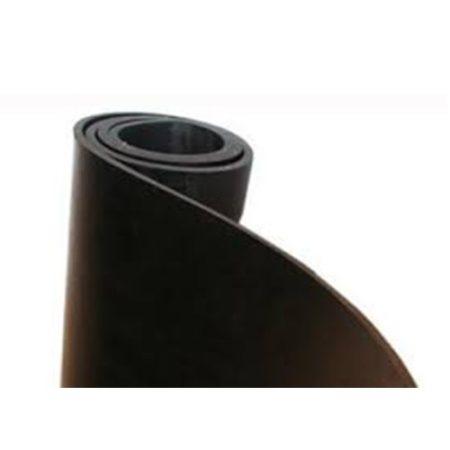 SBR gumilemez, betét nélküli, sima, fekete, 1,2m tekercsszélesség
