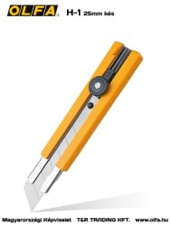 OLFA H-1 25mm-es kés