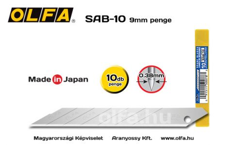 OLFA SAB-10 9mm-es penge