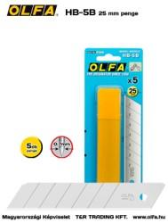 OLFA HB-5B 25mm-es penge