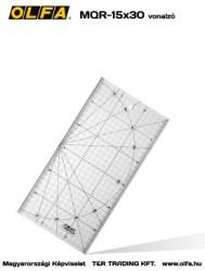 OLFA MQR-15x30 vonalzó