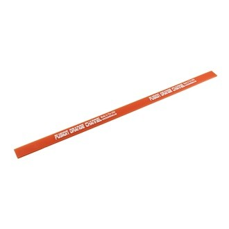 """Fusion Channel Squeegee 18"""" narancssárga vízlehúzó gumi, 45cm hosszú, 85-ös keménységű"""