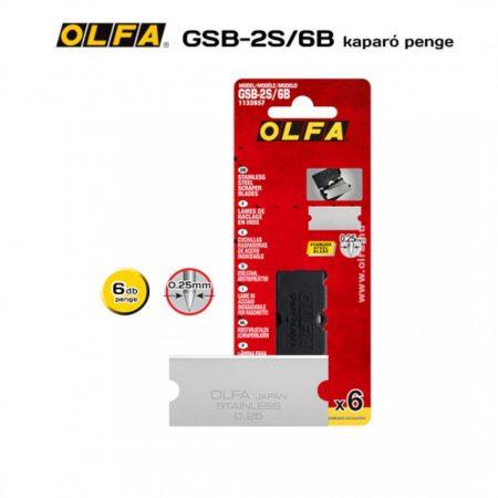 OLFA GSB-2S/6B kaparópenge